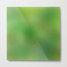 Color gradient and texture 67 green Metal Print
