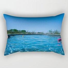 pool. Rectangular Pillow