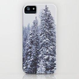 MORE SNOW iPhone Case