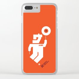 UNDO   Music to the people 06 Clear iPhone Case