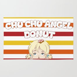 Chu Chu Angel : stripe Rug
