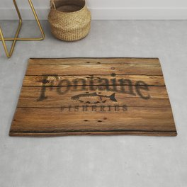 Fontaine Fisheries Crate Rug