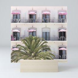 Life in Pink Mini Art Print