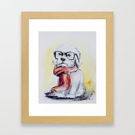 West Highland White Terrier Framed Art Print