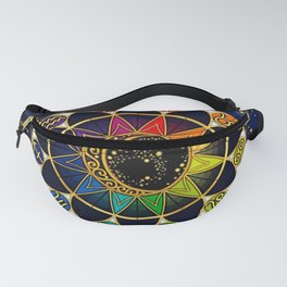 Zodiac Star Sign Table Fanny Pack