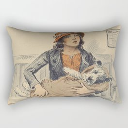 Be Kind To Animals 4 Rectangular Pillow