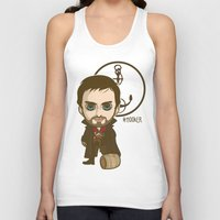 hook Tank Tops featuring Captain Hook by Samtronika