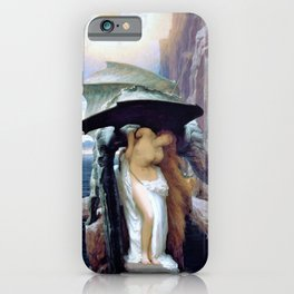 Frederic Leighton - Perseus and Andromeda - Digital Remastered Edition iPhone Case
