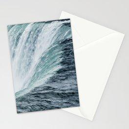 Landscape Photography | Niagara Falls | Waterfall | Aqua | Mist | Fog | Blue | Marine Stationery Cards