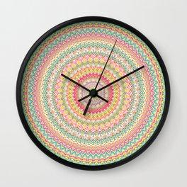 Mandala 504 Wall Clock
