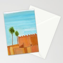 walls and palms Stationery Cards