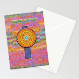 CD Fractal Mandala Stationery Cards