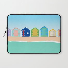 Brighton Beach Bathing Boxes, Melbourne, Australia Laptop Sleeve
