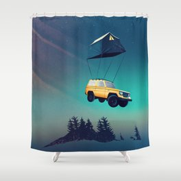 Darling, this is Magic! Shower Curtain