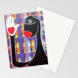 MAMMA AFRICA-CUORE IN MANO Stationery Cards