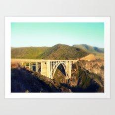 Bixby Canyon Bridge Art Print