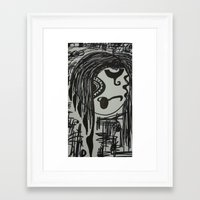 melissa smith Framed Art Prints featuring Melissa by tootsie
