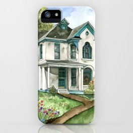 Garden House iPhone Case