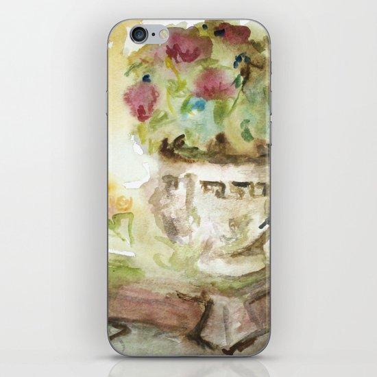 Flowers In the Garden iPhone & iPod Skin