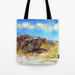 Antietam Under Blue Skies Tote Bag