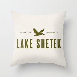 Lake Shetek Throw Pillow