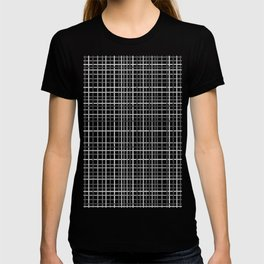 Weave Black and White T-shirt