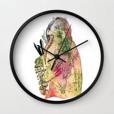 Beetle Queen Wall Clock