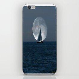 Full Moon Sailing iPhone Skin