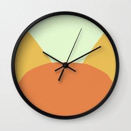 Deyoung Orange Wall Clock