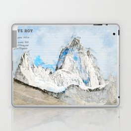 Fitz Roy, Patagonia South America Laptop & iPad Skin
