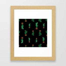 Cacti. Framed Art Print