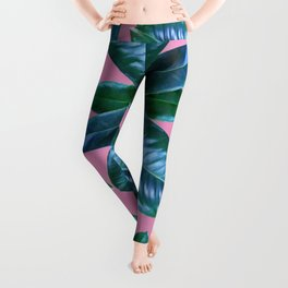 Ficus Elastica Leggings