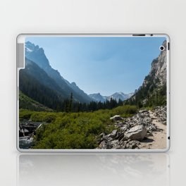Cascade Canyon, Grand Teton National Park Laptop & iPad Skin