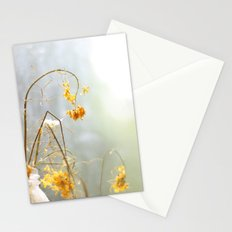 dried flowers Stationery Cards