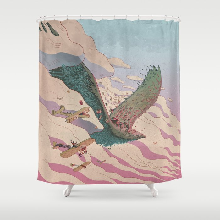 The ancient eagle Shower Curtain