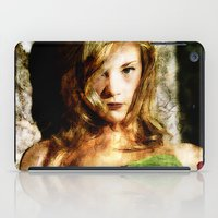 game of thrones iPad Cases featuring Portrait of Natalie Dormer (tutors / game of thrones) by André Joseph Martin