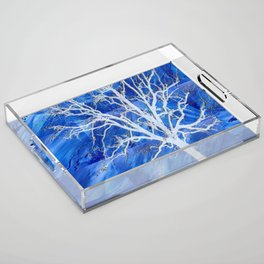 and the seed became tree Acrylic Tray