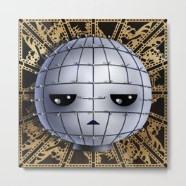 Chibi Pinhead Metal Print