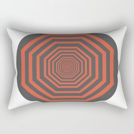 Optical Illusion Rectangular Pillow