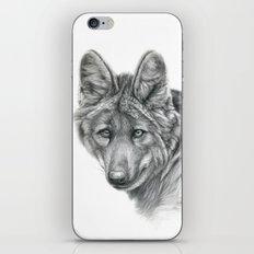 Maned Wolf G040 iPhone & iPod Skin