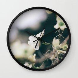 Flower Photography by Sandra Seitamaa Wall Clock