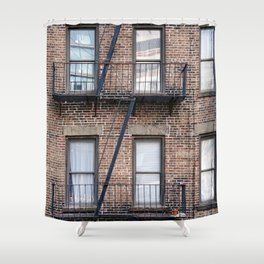 New York Fire Escape Shower Curtain