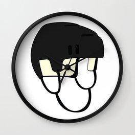 Hockey Helmet Wall Clock