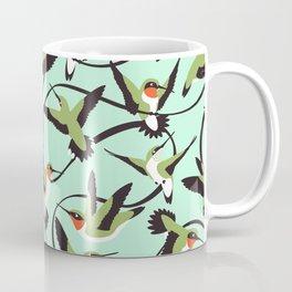 Hummingbirds with Ribbons Coffee Mug