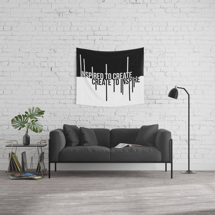 Create to Inspire Wall Tapestry