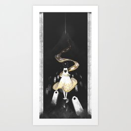 Waiting - Journey Art Print