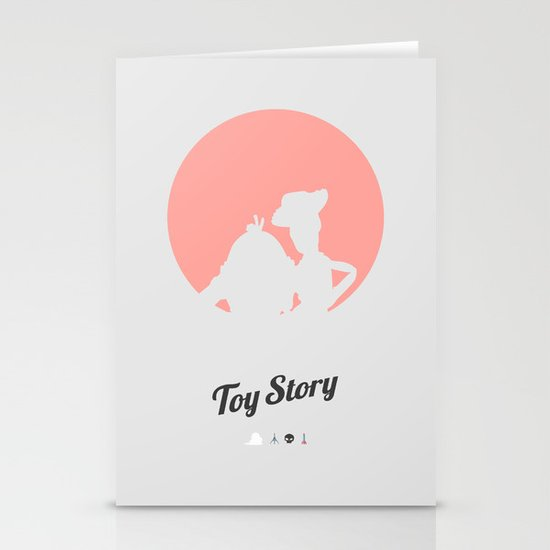 Toy Story - minimal poster Stationery Cards
