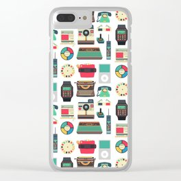 RETRO TECHNOLOGY 2.0 Clear iPhone Case