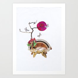 Buddleia Art Print