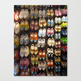 These Clogs Were Made For Walking Canvas Print